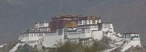 Potala Palace of Dalai Lama in Lhasa
