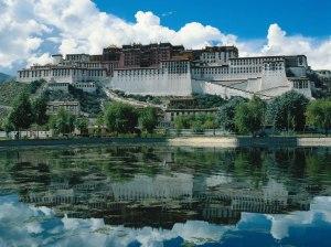 Potala Palace of Dalai Lama in Lhasa