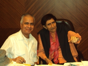 With Dev Anand in His Office