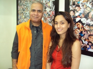 With Shweta Pandit in My Office