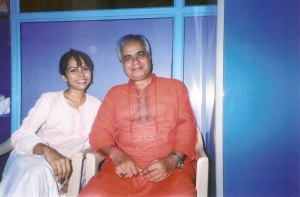 With Ragini Shetty