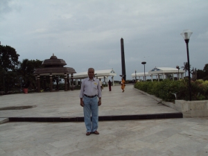 Anna Durai Memorial at Marina Beach