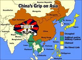 Map of Free Tibet