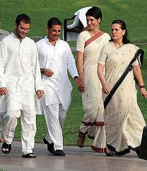 Members of Nehru  - Gandhi Family