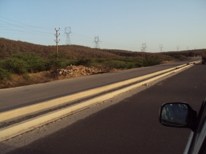 A Portion of Gwalior - Jhansi Highway