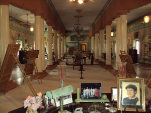 Queen's Darbar Hall - Now Madhao Rao Scindia Memorial