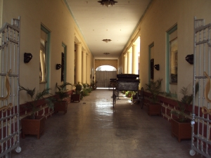 Gallery Leading to Outer Courtyard