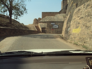 Gwalior Fort - Approach Road Southern Gate
