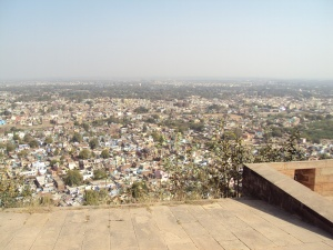 Gwalior City As Visible From the Fort