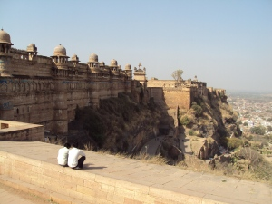 Outer Walls of Man Mandir