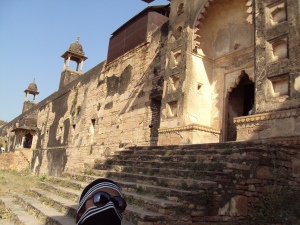 Entrance of Jahangir Mahal