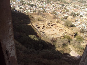 Gujari Mahal As Visible from Hawa Mahal