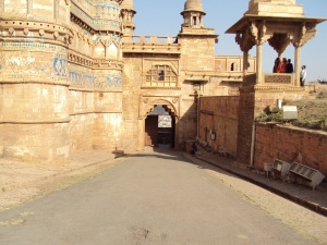 Hathi Pole - Main Gate of Gwalior Fort