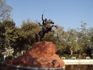 Maharani Lakshmi Bai Memorial : The Place Where She Was Martyred