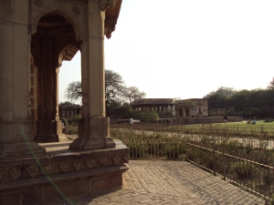 Mausoleum of Tansen & Muhammad Ghaus As Seen from the Entrance