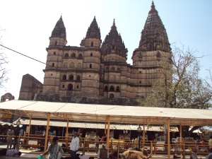 Original Raghunath Ji Temple in Orchha Which is Vacant