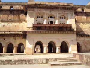 A View of Raja Mahal