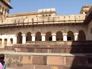 A View of Raja Mahal