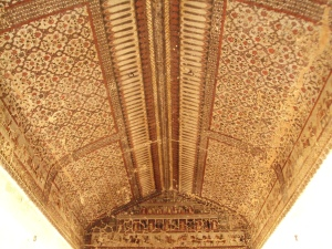 Ceiling of King's Room in Raja Mahal
