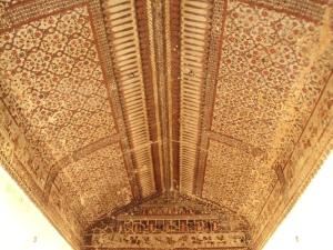 Ceiling of King's Room in Raja Mahal