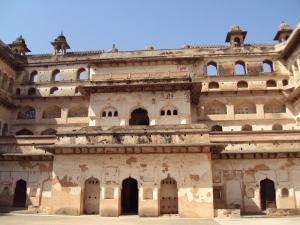 Front View Raja Mahal Orchha