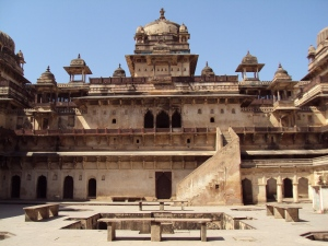 Jahangir Mahal Orchha - Interior