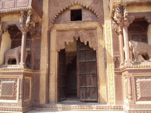 Main Entrance  of Jahangir Mahal Orchha