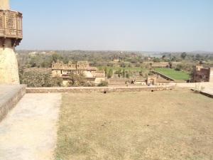 Rai Praveen Mahal As Seen from the Courtyard of Jahangir Mahal
