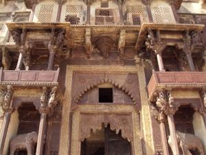 Main Entrance  of Jahangir Mahal Orchha