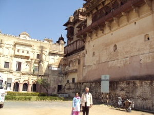 Back Entrance of Jahangir Mahal