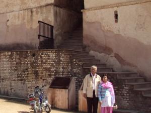 Back Entrance of Jahangir Mahal