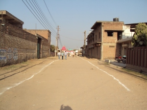 Road Leading to Tiwari Farm - Dabra