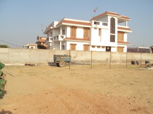 New Bungalow of Shri Ashok Tiwari - Side View