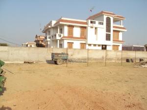 New Bungalow of Shri Ashok Tiwari - Side View