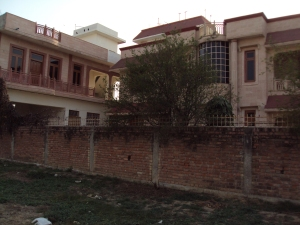 New Bungalow of Shri Rang Nath Tiwari - Side View