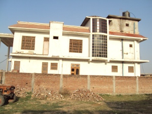 New Bungalow of Shri Ram Sevak Tiwari - Side View