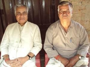 With My Wife's Brother Shri Deen Dayal Tiwari