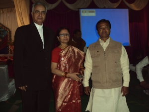 With My Wife & Her Brother Shri Rang Nath Tiwari