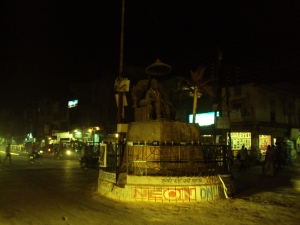 Main Road - Dabra in The Night