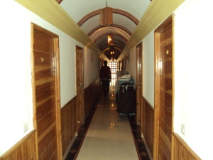 A Corridor of Hotel Many Allaya - Manali