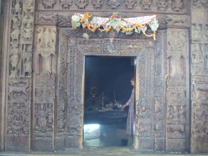 Wooden Main Gate of Hadimba Temple - Manali