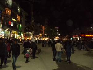 Mall Road - Manali