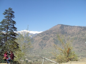 Naggar : Surrounded by Snow - Capped Hills