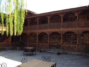 Naggar Castle - Inner Courtyard