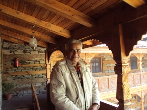 Naggar Castle - At The Restaurant
