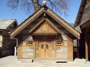 Naggar Castle - The Temple