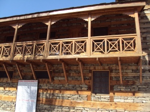 Naggar Castle - The Balcony