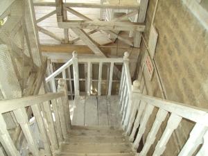 Svetoslav Roerich & Devika Rani Memorial - Naggar [ Staircase ]