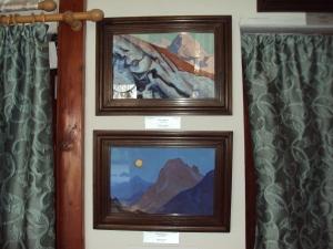 Svetoslav Roerich & Devika Rani Memorial - Naggar [ Roerich Paintings ]