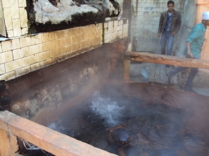 Hot Water Spring at Manikaran